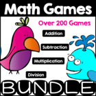 Math Games Mega Collection