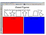 Math Geometry and angles Smart Board lessons