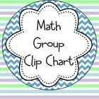 Math Group Clip Chart