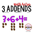 Math Helps - 3 Addends