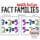 2nd Grade Math Helps - Fact Families