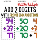 2nd Grade Math Helps - Front End Addition