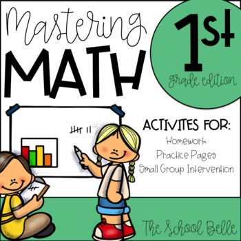 Math Homework, Practice, and Review For All Year Long! (1s