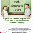 Math Homework Rubric