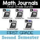 Math Journal Bundle January Through May Interactive Printables
