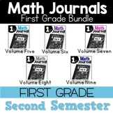 Math Journal Bundle Second Semester