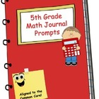 Math Journal - Fifth Grade Aligned to Common Core