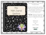 Math Journal Prompts for May