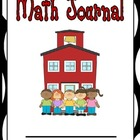 Math Journal for 1st, 2nd, or 3rd Grade