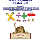 Math Keywords Poster Set