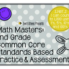 Math Masters: 2nd Grade Common Core Printables 2.NBT.2: Co