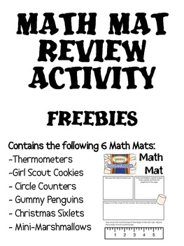 Math Mat FREEBIE Collection