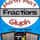 Math Mat Glyph:  Fractions