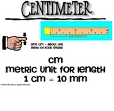Math Measurement Word Wall Posters - Free