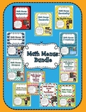 Math Menus: The Bundle
