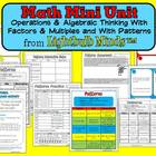 Math Mini Unit: Operations & Algebraic Thinking (Patterns,