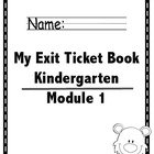 Math Module 1 Common Core Kindergarten Expansion Pack: NYS