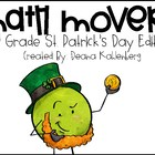 Math Movers: St.Patty's Day Monster Edition