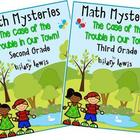 Math Mystery Bundle Grade 2 and 3 - Case of the Trouble in
