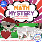 Math Mystery-Case of the Valentine Villains-Grade 1