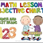Math Objectives Charts