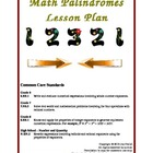Math Palindromes Lesson Plan