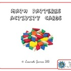 Math Patterns Activity Cards