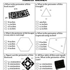 Math: Perimeter Assessment and Study Guide