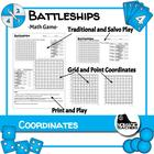 Math - Practice co-ordinates skills through Battleships game
