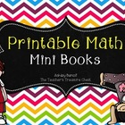 Math Printable Mini Book Bundle