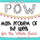 Math Problem of the Week (For the Year!)
