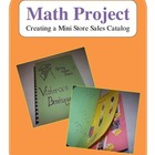 Math Project - Creating a Mini Store Sales Catalog