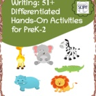 Math, Reading, & Writing Activities Using Small Toys