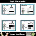 Math Resource -- Happy Robots Number Wall Headers & Posters