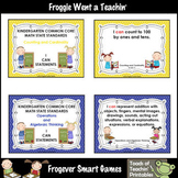 "Math Resource -- "" I Can"" Statements Kindergarten Common C"
