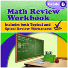 Math Review Workbook - Grade 6