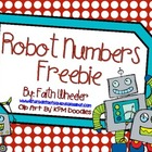 Math - Robot Addition Center Freebie