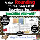 Make Rounding Dog-Gone Easy! A Math Rounding Mini Unit