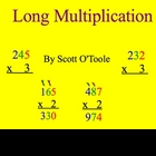 Math Smartboard Lessons Multiplication 3 digits x 1 digit