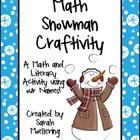 Math Snowman Craftivity (Freebie!)