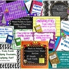 Math Stations Common Core Review Mega Bundle!
