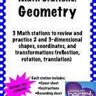 Math Stations: Geometry