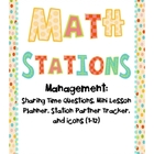 Math Stations Management Set