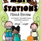 Math Stations:  Mixed Review
