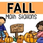 Math Stations {October}