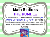Math Stations: THE BUNDLE