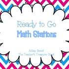 Math Stations to Go (Set 1)