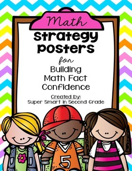 Math Strategy Posters - Strategy Posters for Building Math Fact Confidence