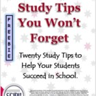Math Study Tips You Won't Forget