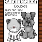 Math Subtraction Center Game ~ Oh! Oh! Subtract Zero ~ Ove